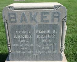 """Emma Ruth """"Emmie"""" <I>Duff</I> Baker"""