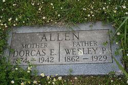 Dorcas Elizabeth <I>Anderson</I> Allen