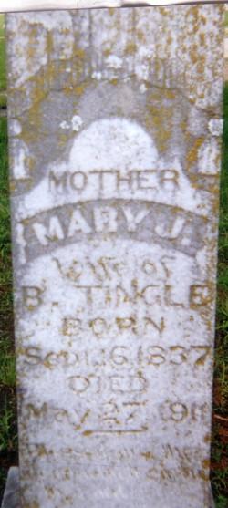 Mary Jane <I>Tubb</I> Tingle