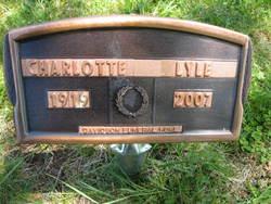 Charlotte Irene <I>Shoaf</I> Lyle