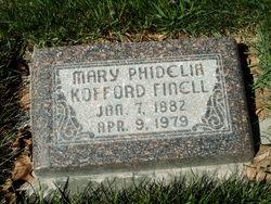 Mary Phidelia <I>Kofford</I> Finell