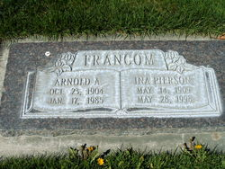 Ina Rose <I>Pierson</I> Francom