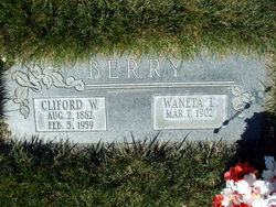 Clifford Walter Berry