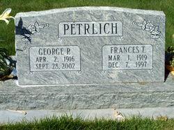 Francis <I>Traver</I> Petrlich