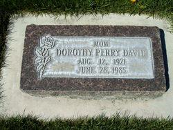 Dorothy LaPriel <I>Taylor</I> David