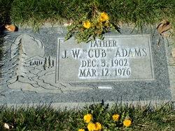 """John Wesley """"Cub"""" Adams"""