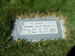 Norma Jean <I>Isenhour</I> Thomson