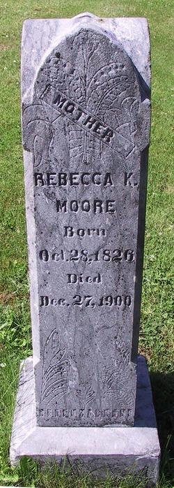 Rebecca K <I>Larkins</I> Moore