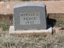 Myrtle Lee Peace