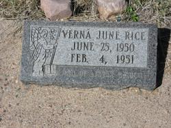 Verna June Rice