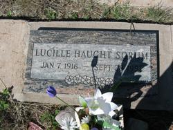 Lucille <I>HAUGHT</I> Sorum