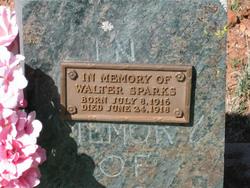 Walter Sparks