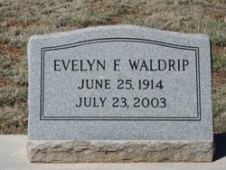 Flora Evelyn <I>Fitzgerald</I> Waldrip