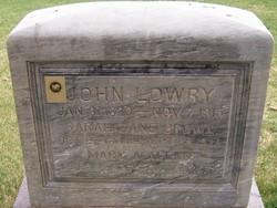 Mary Ann <I>Allen</I> Lowry