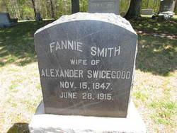 Fannie <I>Smith</I> Swicegood