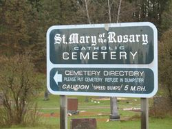 Saint Mary of the Rosary Cemetery