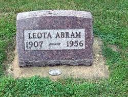 Leota May <I>Miner</I> Abram