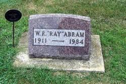 """William Raymond """"Ray"""" Abram"""