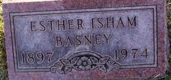 Esther <I>Beers</I> Isham Basney