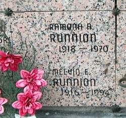 Melvin Eugene Runnion