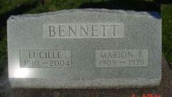 """Marion F """"Mooch"""" Bennett"""