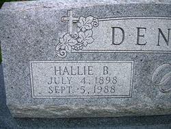 Hallie <I>Butler</I> Dennis