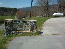 Happy Valley Missionary Baptist Church Cemetery