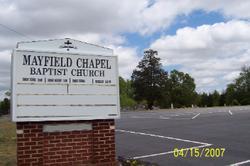 Mayfield Chapel Baptist Church Cemetery