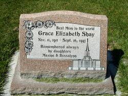 Grace Elizabeth <I>Plues</I> Shay