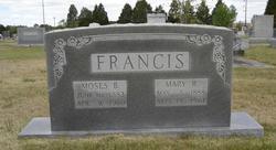 Mary Rachel <I>Lassiter</I> Francis