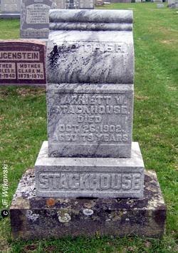 Harriet W. <I>Johnson</I> Stackhouse
