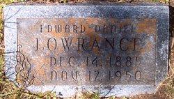 Edward Daniel Lowrance