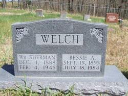 Bessie Ann <I>Caudle</I> Welch