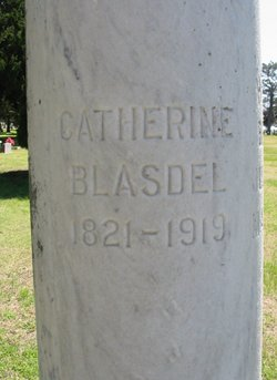 Catherine <I>Chase</I> Blasdel