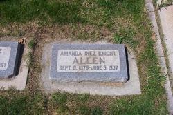 Amanda Inez <I>Knight</I> Allen