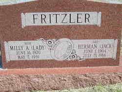 "Milly A. ""Lady"" Fritzler"