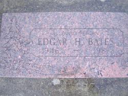 "Edgar Harrison ""Eddie"" Bates"