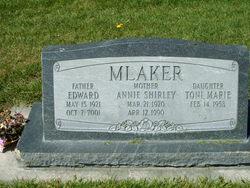 Annie Shirley <I>Jackson</I> Mlaker