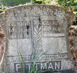 Eliza E. L. <I>Yerby</I> Pittman