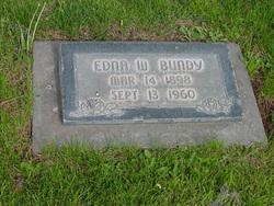 Edna <I>Wilson</I> Bundy