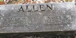 Nancy <I>Kendall</I> Allen