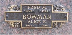 Alice E. Bowman