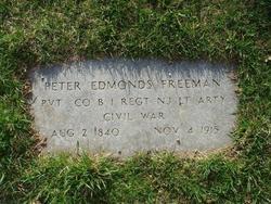 Pvt Peter Edmonds Freeman
