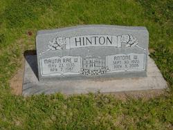 Mauna Rae <I>Workman</I> Hinton