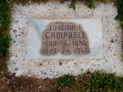 Lovenia <I>Isom</I> Campbell