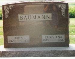 Christena <I>Ansmink</I> Baumann