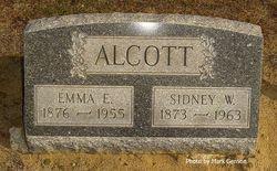 Emma Elizabeth <I>Roderick</I> Alcott