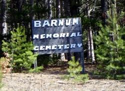 Barnum Memorial Cemetery