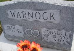 Donald L Warnock