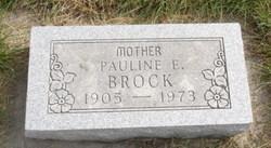 Pauline E Brock